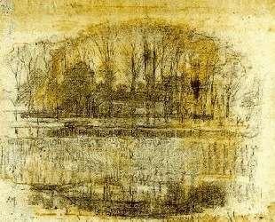 Ферма в Гейнрусте, композиционная зарисовка — Пит Мондриан