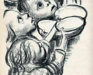 Germany's children starve! — Кэте Кольвиц