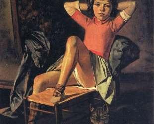 Girl and Cat — Бальтюс