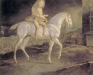 Girl on a white horse — Бальтюс
