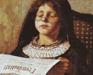 Girl Reading — Георгиос Яковидис
