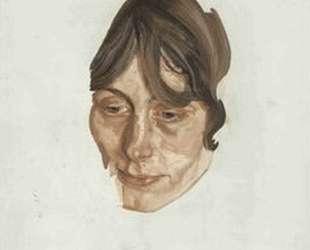 Голова девушки — Люсьен Фрейд