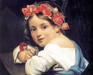 Девочка в маковом венке — Орест Кипренский