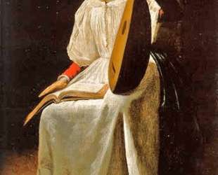Girl with a Lute — Юдит Лейстер