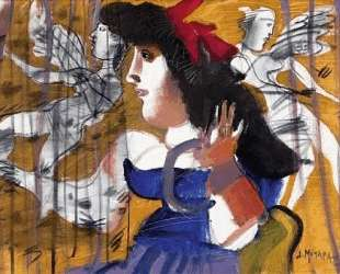 Girl with angels — Димитрис Митарас