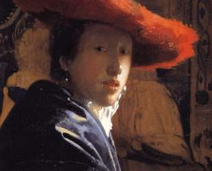 Girl with the red hat — Ян Вермеер