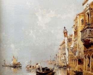 Giudecca Canal — Франц Рихард Унтербергер