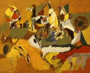 Золотисто-коричневая картина — Аршил Горки