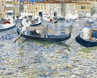 Grand Canal, Venice — Морис Прендергаст