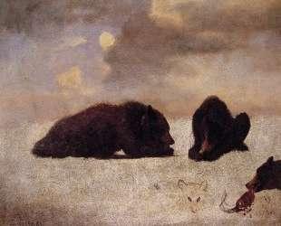 Grizzly Bears — Альберт Бирштадт