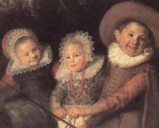 Group of Children (detail) — Франс Халс