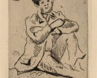Guillaumin with the Hanged Man — Поль Сезанн