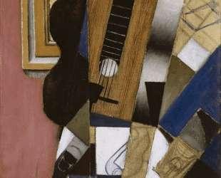 Guitar and Pipe — Хуан Грис