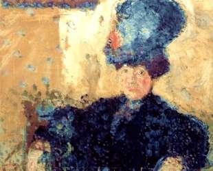 Half-length portrait of Mathilde Schoenberg — Рихард Герстль