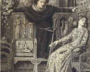 Hamlet and Ophelia — Данте Габриэль Россетти