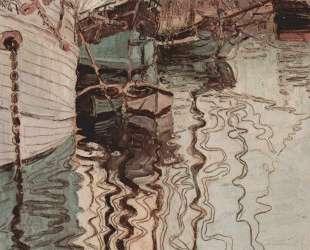 Harbor of Trieste — Эгон Шиле