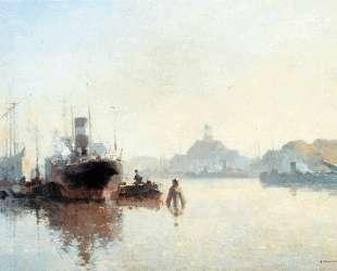 Harbour At Amsterdam — Корнелис Вреденбург