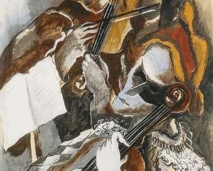 Harlequins violinists hidden — Осип Цадкин