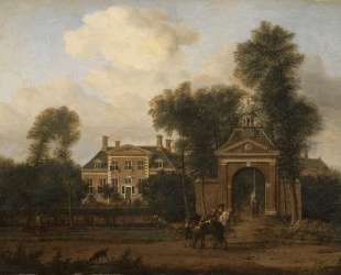 Harteveld house on the Vecht in Utrecht — Адриан ван де Вельде