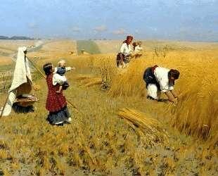 Harvest Gathering in Ukraine — Николай Пимоненко