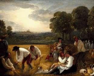 Harvesting at Windsor — Бенджамин Уэст