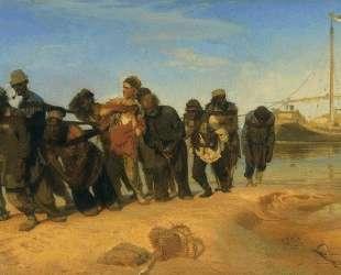 Бурлаки на Волге — Илья Репин