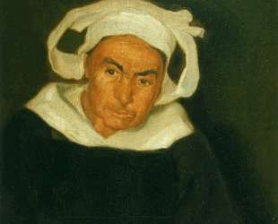 Head of a Breton Woman — Диего Ривера