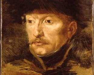 Head of a horseman — Теодор Жерико