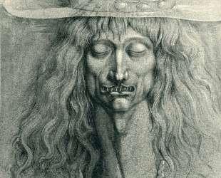 Head of a man — Эрнст Фукс
