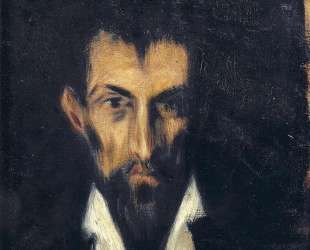 Head of a Man in El Greco style — Пабло Пикассо