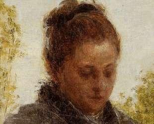 Head of a Young Woman — Анри Фантен-Латур