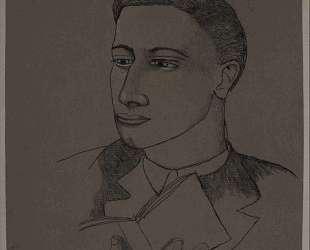 Голова мальчика с книгой — Люсьен Фрейд