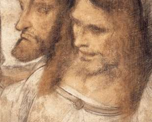 Heads of Sts Thomas and James the Greater — Леонардо да Винчи