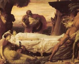 Hercules Wrestling with Death for the Body of Alcestis — Фредерик Лейтон