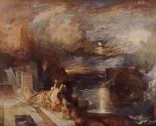 Hero and Leander's farewell — Уильям Тёрнер