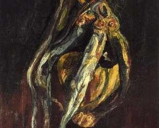 Herrings and a Bottle of Chianti — Хаим Сутин