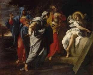 Holy Women at Christ' s Tomb — Аннибале Карраччи