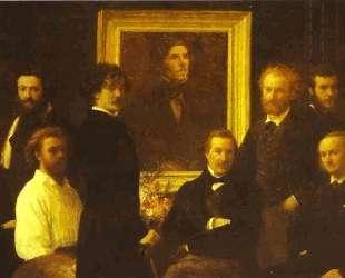 Homage to Delacroix — Анри Фантен-Латур