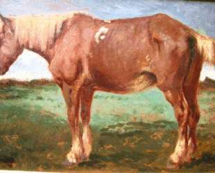 Horse Portrait — Констан Труайон