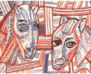 Лошади — Павел Филонов