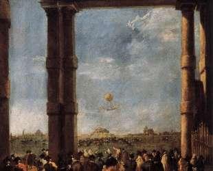 Hot Air Balloon Rising — Франческо Гварди