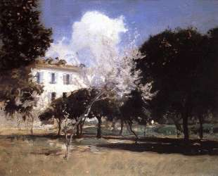 House and Garden — Джон Сингер Сарджент