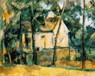 House and Trees — Поль Сезанн