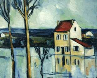 House on the Banks of a River — Морис де Вламинк