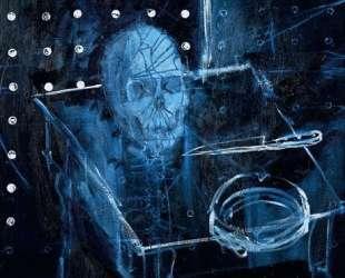 Человеческий череп в пространстве — Дэмьен Хёрст