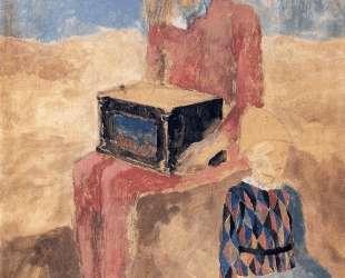 Hurdy-gurdy — Пабло Пикассо