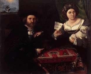 Husband and Wife — Лоренцо Лотто