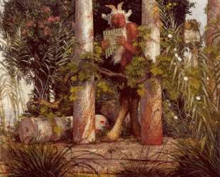 Idyll (Pan Amidst Columns) — Арнольд Бёклин