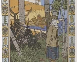 Иллюстрация к сказке 'Перышко Финиста Ясна Сокола' — Иван Билибин