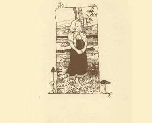Иллюстрация к сказке 'Царевна-Лягушка' — Иван Билибин